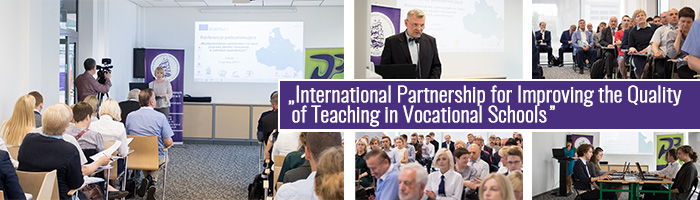 "Konferencja – ERASMUS + ""International Partnership for Improving the Quality of Teaching in Vocational Schools""."